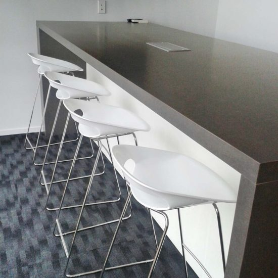 Attwoods island & bar stools