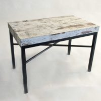 Steel frame for small table