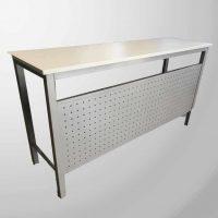 Steel table worktop