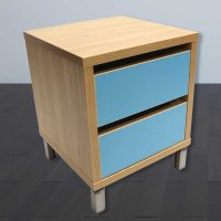 Bedside-2-drawer-natural-and-carribbean